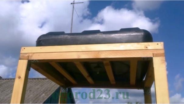 летний душ на даче своими руками, фото и размеры 10