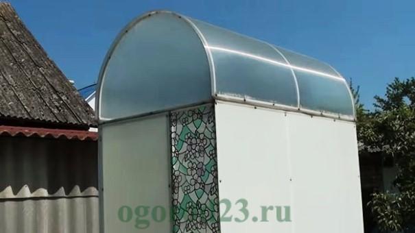 летний душ на даче своими руками, фото и размеры 8