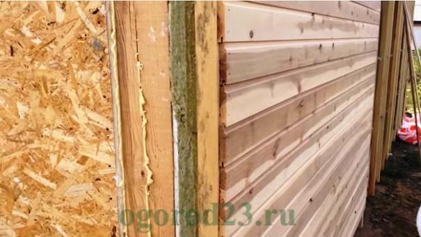 отделка деревом стен 2