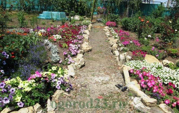 дизайн садового участка своими руками фотогалерея 20
