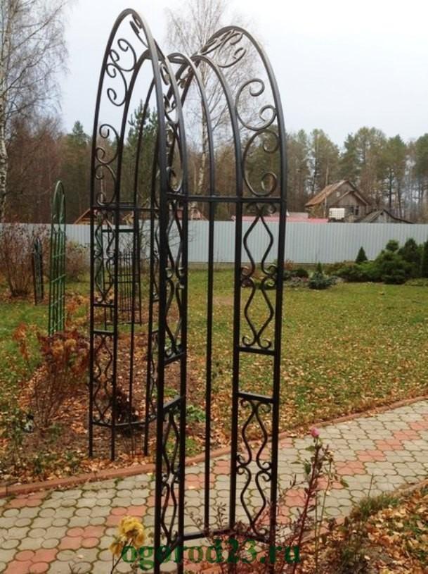 арки для цветов на даче 2