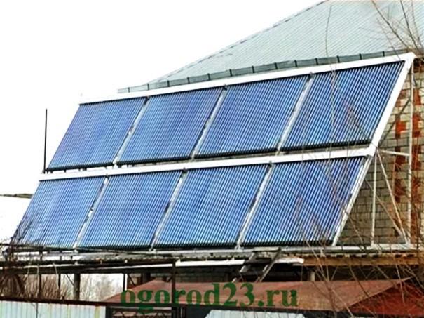 Альтернативное отопление частного дома без газа и электричества 7