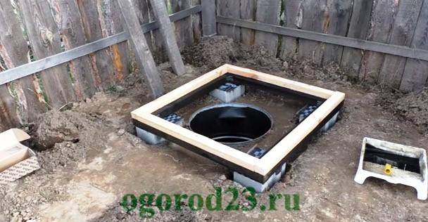 дачный туалет своими руками пошагово 3
