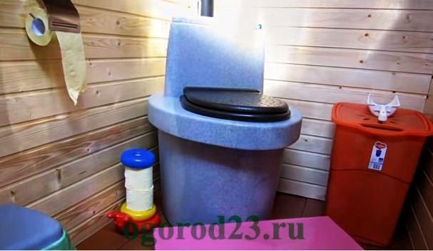 дачный туалет своими руками пошагово 7