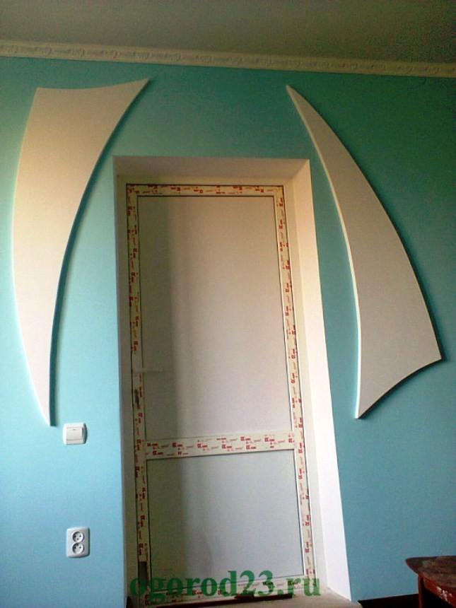 декоративная отделка стен 12