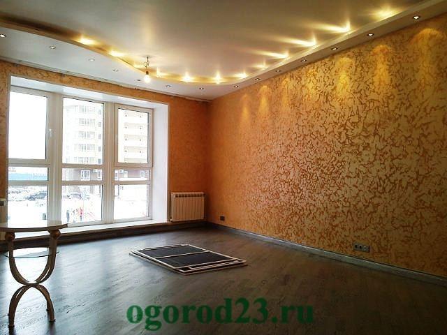 декоративная отделка стен 5