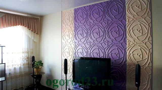 декоративная отделка стен 15