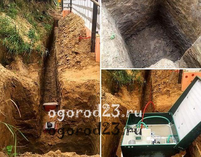 Автономная канализация для дачи 12