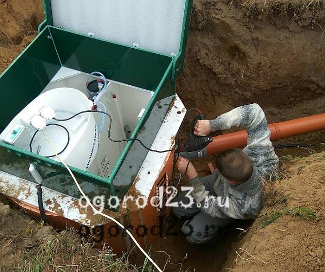 Автономная канализация для дачи 10