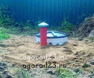 автономная канализация на даче 100