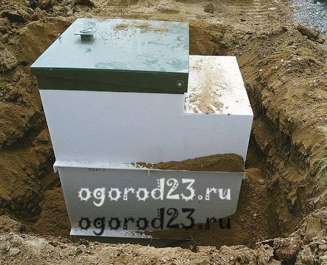 Автономная канализация для дачи 4