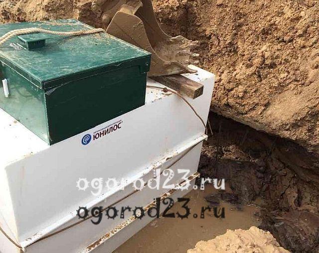 Автономная канализация для дачи 6